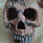 Aquarium decoratie schedel 1