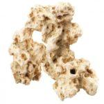 Witte rotsblokken als aquarium decoratie geven net dat beetje extra in je aquarium