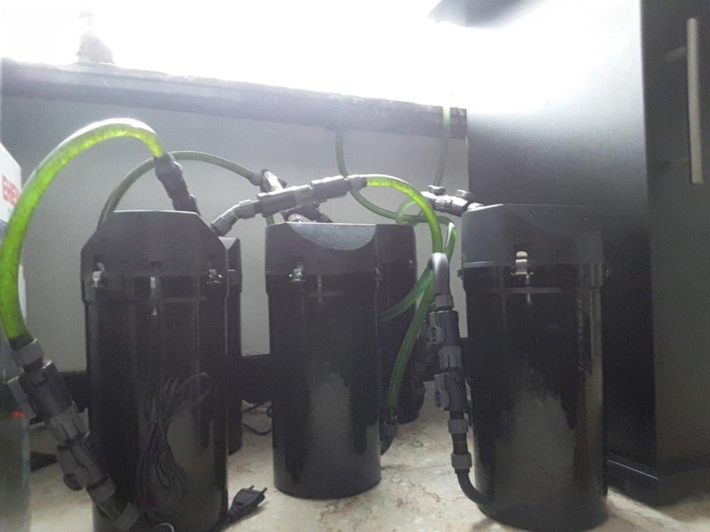 Het gebruik van meerdere filters in één filtersysteem heeft zo zijn onmiskenbare voordelen.