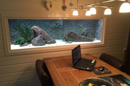Ingebouwd aquarium