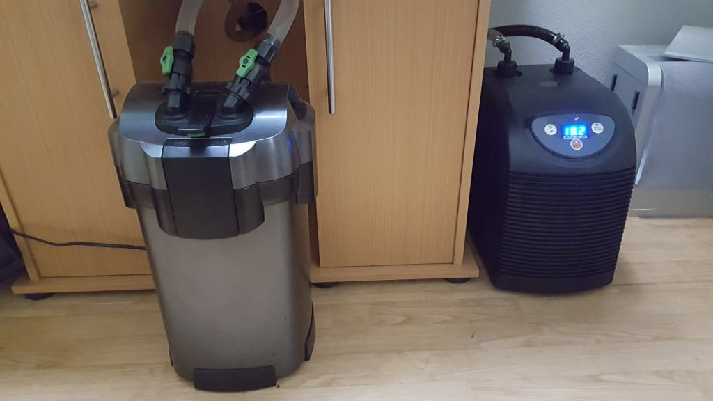 Filter en koeler