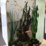 Hier zie je het aanzicht van het volledige Biorb Life aquarium.